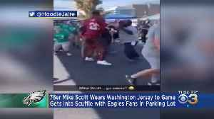Sixers Star Mike Scott Involved In Fight With Eagles Fans During Tailgate In Linc Parking Lot [Video]