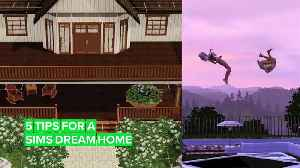"""Tips to be an awesome """"Sims architect"""" of e-dream homes [Video]"""