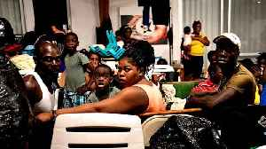 Hurricane Dorian: Traumatised survivors living in shelters [Video]