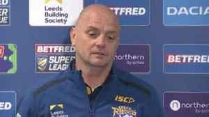 Agar: I can turn Leeds Rhinos around [Video]