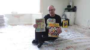 Comic book fan collected 2,000 copies of Beano [Video]