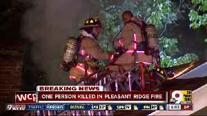 Monday morning house fire kills one person in Pleasant Ridge [Video]