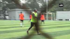 Bollywood celebs enjoy football match during rain in Mumbai [Video]