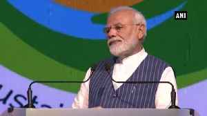 News video: Time has come for world to say good-bye to single use Plastic PM Modi