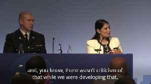 Priti Patel: Police cadets were not politicised in Boris Johnson speech [Video]