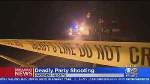 Man Shot, 2 Women Wounded In Shooting Outside Hacienda Heights House Party [Video]