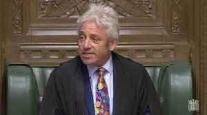 News video: John Bercow Announces He's Standing Down As Commons Speaker
