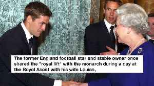 Michael Owen scolded by the Queen for taking his hat off [Video]