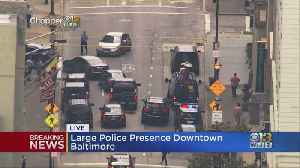 Police Investigating Possible Suspicious Vehicle In Downtown Baltimore Parking Garage [Video]