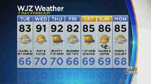 Meteorologist Chelsea Ingram Has Your Updated Monday Afternoon Forecast [Video]