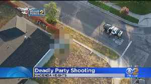 Man Killed In 2nd Weekend House Party Shooting In Hacienda Heights [Video]