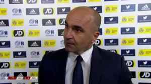 Martinez happy with Belgium display [Video]