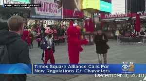 Teen Claims Times Square Elmo Touched Her Inappropriately [Video]
