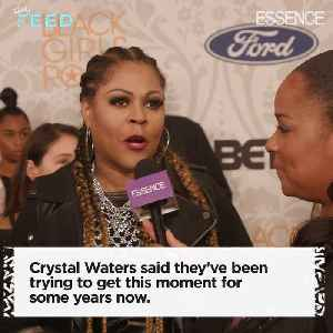 Robin S., Crystal Waters, and CeCe Peniston Opened Up Black Girls Rock! 2019 [Video]