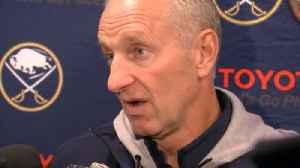 Sabres Coach Krueger addresses media [Video]