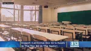 Ten Of The Top 50 Universities In U.S. Are In California, U.S. News & World Report Says [Video]
