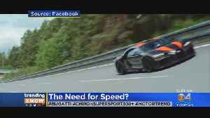 Bugatti To Sell World's Fastest Car For $3.9M [Video]