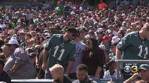 Eagles Fans Still Flying High From Sunday's Win Over Washington [Video]