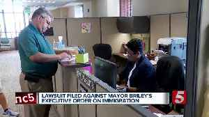 Lawsuit filed against mayor's executive order on immigration [Video]