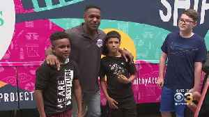 Eagles' Rodney McLeod Provides Much-Needed Health Services For Students At South Jersey School [Video]