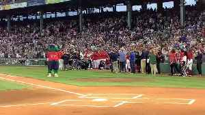 News video: David Ortiz Throws Out First Pitch At Fenway Park