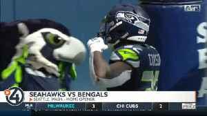 Seahawks win close home opener over Cincinnati 21-20 [Video]