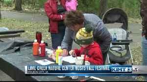 Lime Creek Nature Center hosts Fall Festival [Video]