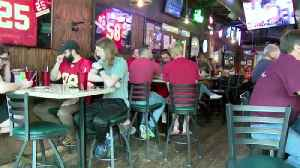 Chiefs fans pack local bars for season opener [Video]