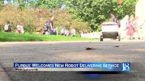 Purdue Welcomes New Robot Delivering Service [Video]