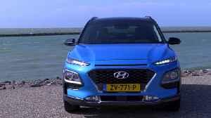 Hyundai Kona Hybrid Design Preview [Video]