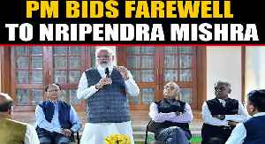 PM bids farewell to trusted Principal Secretary Nripendra Mishra | OneIndia News [Video]