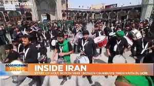 Inside Iran: defiant Iranians celebrate their Islamic faith for Muharram [Video]