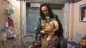Watch: Pakistan's first trans-friendly salon opens for business