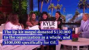 Kylie Jenner Donates $750,000 to Women's Empowerment Organization [Video]