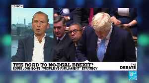 Road to no-deal Brexit -