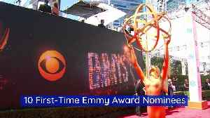 10 First-Time Emmy Award Nominees [Video]