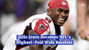 Julio Jones Becomes NFL's Highest Paid Wide Receiver [Video]