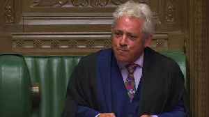 News video: Orderrrrrrrrr! UK parliament speaker John Bercow's memorable moments