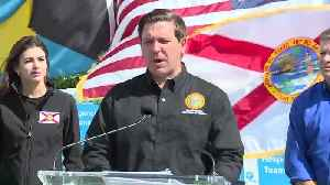 Gov. Ron DeSantis makes Bahamas relief announcement with FPL in West Palm Beach [Video]
