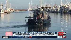 Authorities to continue recovery of dive boat that burned over Labor Day weekend [Video]
