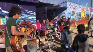 Using Music and Art to Build Friendships on the Border #ComeTogether [Video]
