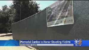 Memorial Garden To Honor Borderline Shooting Victims [Video]