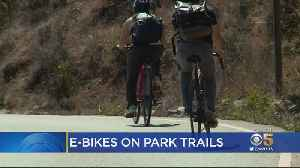Federal Plan To Allow E-Bikes On National Park Trails Raises Safety Concerns [Video]