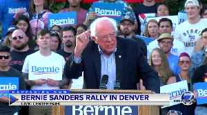 News video: Full video: Sen. Bernie Sanders rallies in Denver