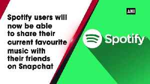 News video: You can now share Spotify music on Snapchat