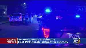 Multiple People Stabbed In East Pittsburgh [Video]