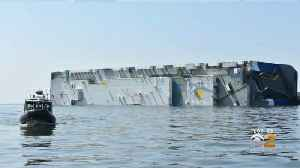 4 Men Rescued From Capsized Cargo Ship [Video]