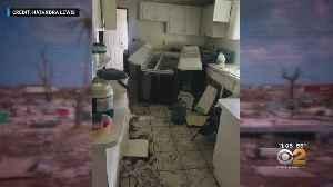 News video: Single Mother From The Bahamas Recounts Living Through Hurricane Dorian