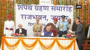 New Rajasthan Governor Kalraj Mishra takes oath [Video]