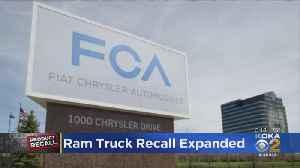 Fiat Chrysler Adds New Truck Recalls [Video]